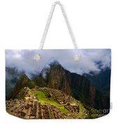 Machu Picchu Overlook Weekender Tote Bag