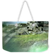 Machu Picchu Reflection Weekender Tote Bag