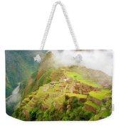 Machu Picchu Textured 2 Weekender Tote Bag