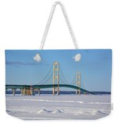 Mackinac In March Weekender Tote Bag