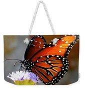 Macro Butterfly Weekender Tote Bag