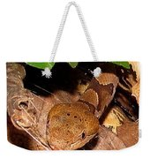 Macro Copperhead Weekender Tote Bag