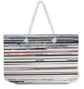 Macro Paper Spot Color Background Weekender Tote Bag