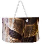 Macro Pheasant Weekender Tote Bag