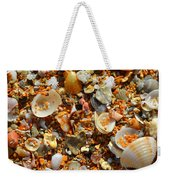 Macro Shells On Sand3 Weekender Tote Bag