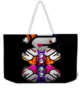Madame Butterfly Weekender Tote Bag