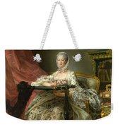 Madame De Pompadour At Her Tambour Frame Weekender Tote Bag