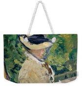 Madame Manet At Bellevue Weekender Tote Bag