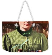 Madame Marie Curie Shaking Up A Killer Martini At The Swank Hipster Club 88 20140625 Weekender Tote Bag