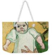 Madame Roulin And Her Baby Weekender Tote Bag by Vincent Van Gogh
