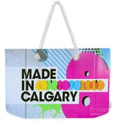 Made In Calgary Weekender Tote Bag
