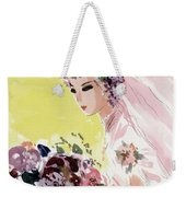 Mademoiselle Cover Featuring A Bride Weekender Tote Bag