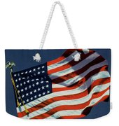 Mademoiselle Cover Featuring The U.s. Flag Weekender Tote Bag