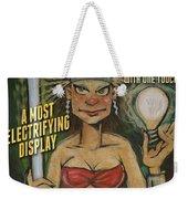 Mademoiselle Electra Poster Weekender Tote Bag