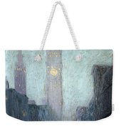 Madison Avenue At Twilight Weekender Tote Bag