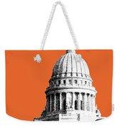 Madison Capital Building - Coral Weekender Tote Bag