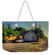 Madison Georgia Historic Train Station Weekender Tote Bag