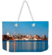 Madison Skyline Weekender Tote Bag