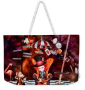 Madness In The Hatter's Realm Weekender Tote Bag