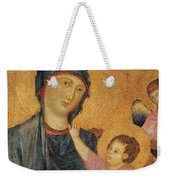 Madonna And Child Enthroned  Weekender Tote Bag