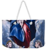 Madonna And Child With Saint Martina And Saint Agnes Weekender Tote Bag