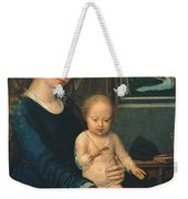 Madonna And Child With The Milk Soup Weekender Tote Bag