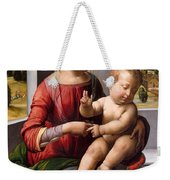 Madonna And Child With The Young Saint John The Baptist Weekender Tote Bag