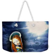 Madonna Lightens The Earth Weekender Tote Bag