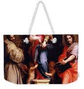 Madonna Of The Harpies Weekender Tote Bag