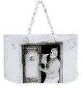 Madras Man Weekender Tote Bag