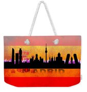 Madrid City Weekender Tote Bag
