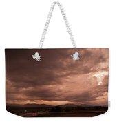 Magenta Clouds Weekender Tote Bag