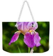Magenta Iris Profile Weekender Tote Bag