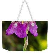 Magenta Iris Weekender Tote Bag