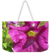 Magenta Majesty Weekender Tote Bag