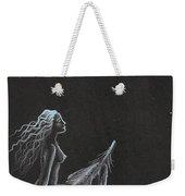 Magic Crow Feather Weekender Tote Bag