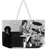 Magic Dick And J. Geils In Oakland 1976 Weekender Tote Bag
