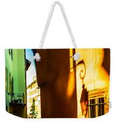 Magic Lantern On The Walls Of Annecy Weekender Tote Bag