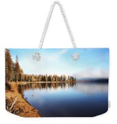Magic On Seeley Lake Weekender Tote Bag