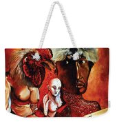 Magic Poultry Weekender Tote Bag by Otto Rapp