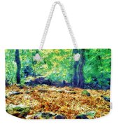 Magic Stone Circle Weekender Tote Bag