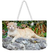 Magical Cat Weekender Tote Bag