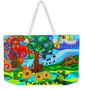 Magical Earth Weekender Tote Bag by Genevieve Esson