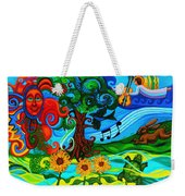 Magical Earth II Weekender Tote Bag by Genevieve Esson