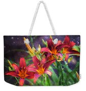 Magical Evening Daylilies Weekender Tote Bag