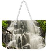 Magical Falls - Fairy Falls In The Columbia River Gorge Area Of Oregon Weekender Tote Bag