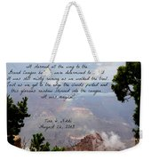 Magical Moments Weekender Tote Bag