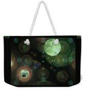 Magical Moonlight Clover Weekender Tote Bag