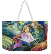 Magical Storybook Weekender Tote Bag by Jen Norton