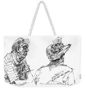Magician And His Friend Weekender Tote Bag